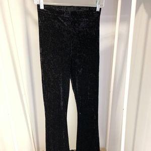 Topshop Velvet Flare Pants